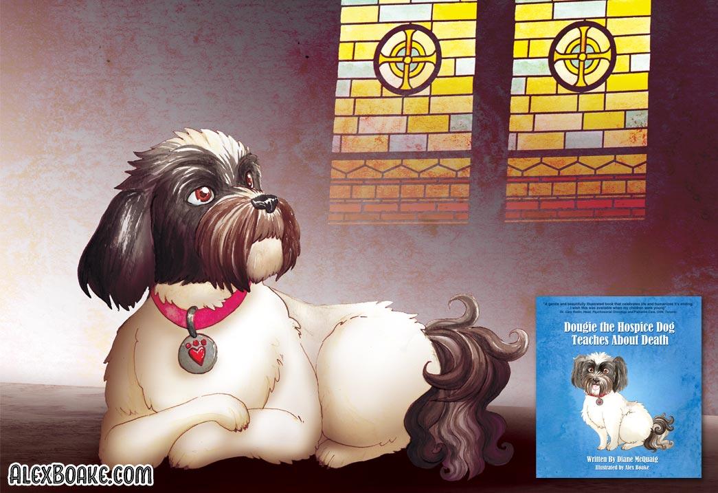 Dougie the Hospice Dog