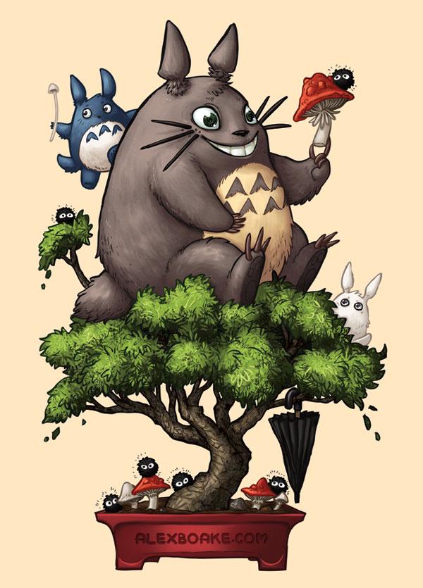 Totoro Bonsai
