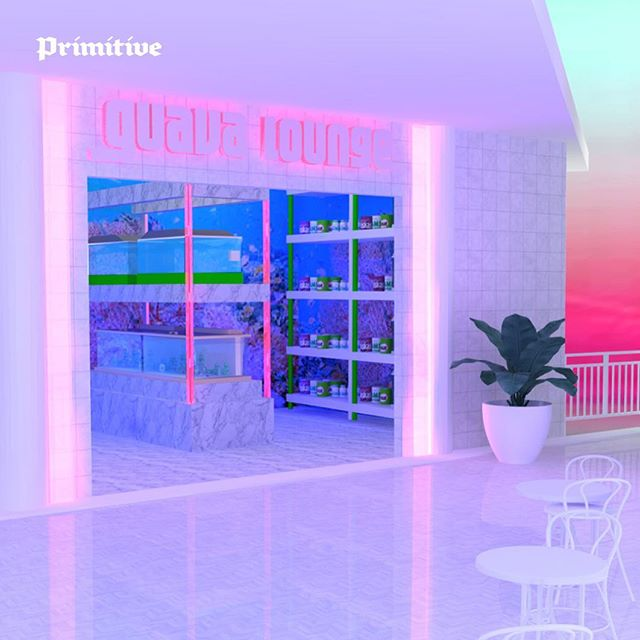 NEW IN PRIMITIVE: We talked to @neonsaltwater about building her elusive 3D dreamscapes into real-life interiors. Learn more in Primitive, our zine on the culture and craft of 3D. Link in bio. #3dfordesigners #primitivezine