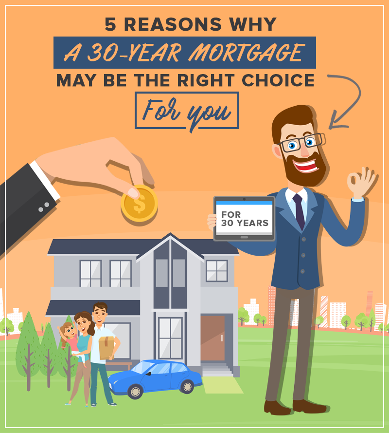 5 Reasons Why A 30-Year Mortgage May Be The Right Choice For You