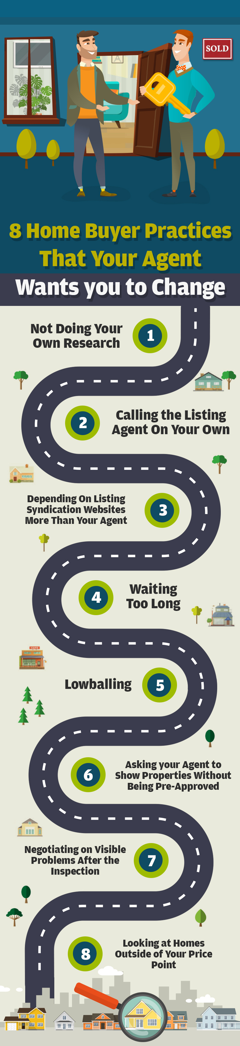 8 Home Buyer Practices That Your Agent Wants you to Change