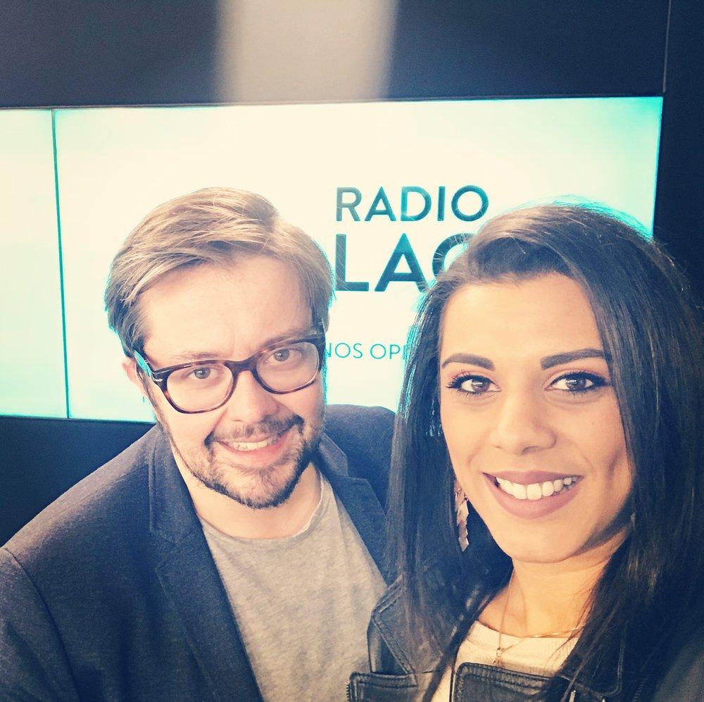 Melyz avec Fabien sur Radio Lac