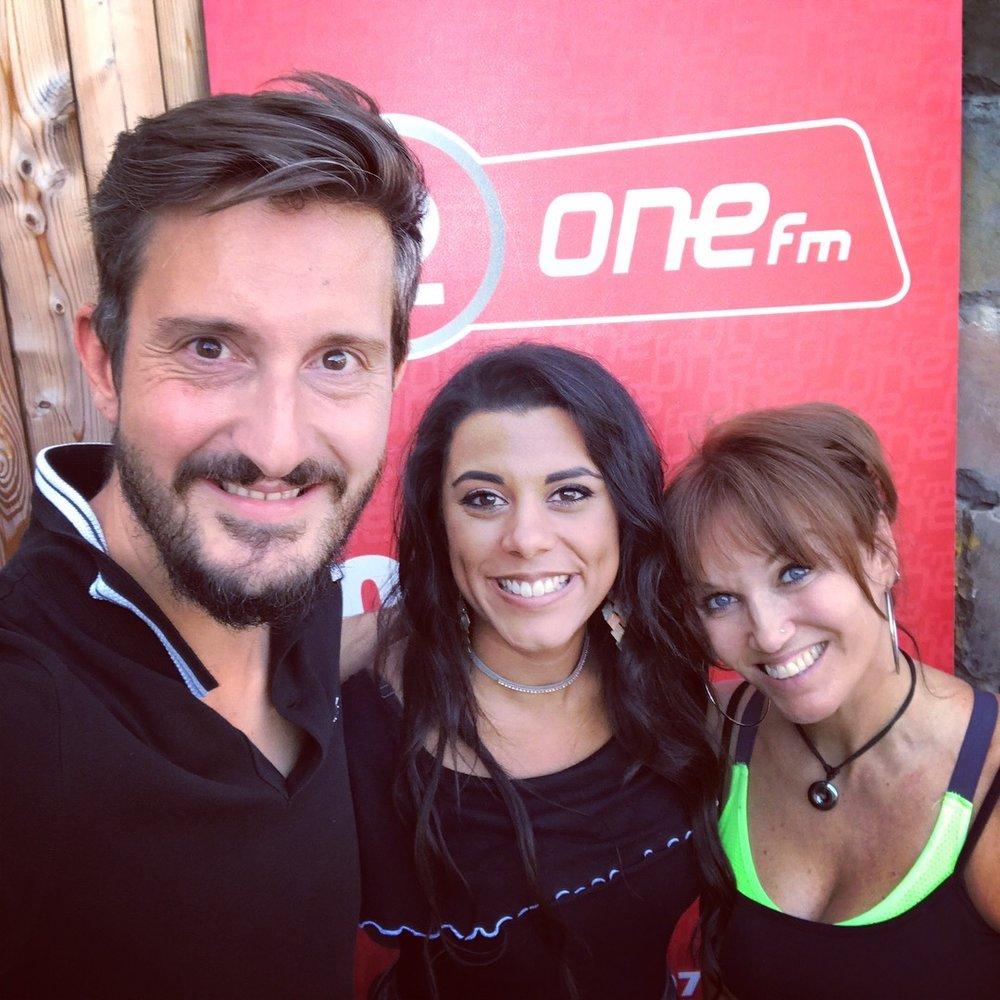 One FM Interview  Melyz, invitée sur One Fm pour la dernière de la saison