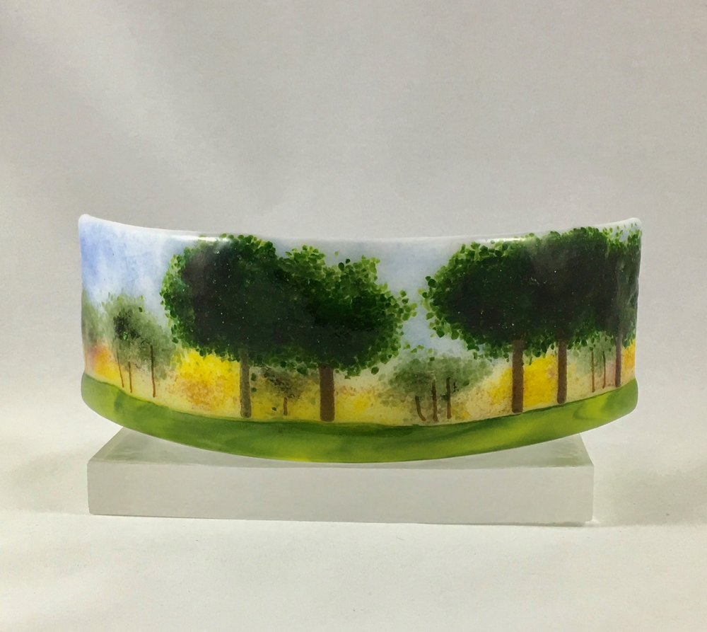 "Trees in the Round - 3"" x 9"" x4"""