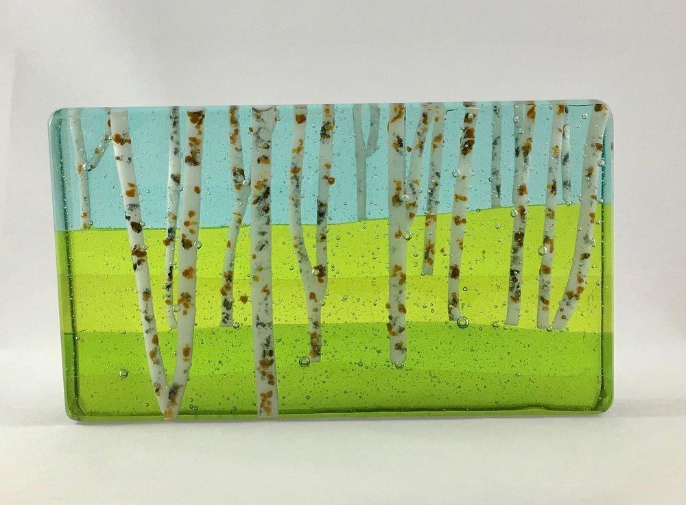 """Birches - 5 1/4"""" x 9"""" x 1 1/4"""""""