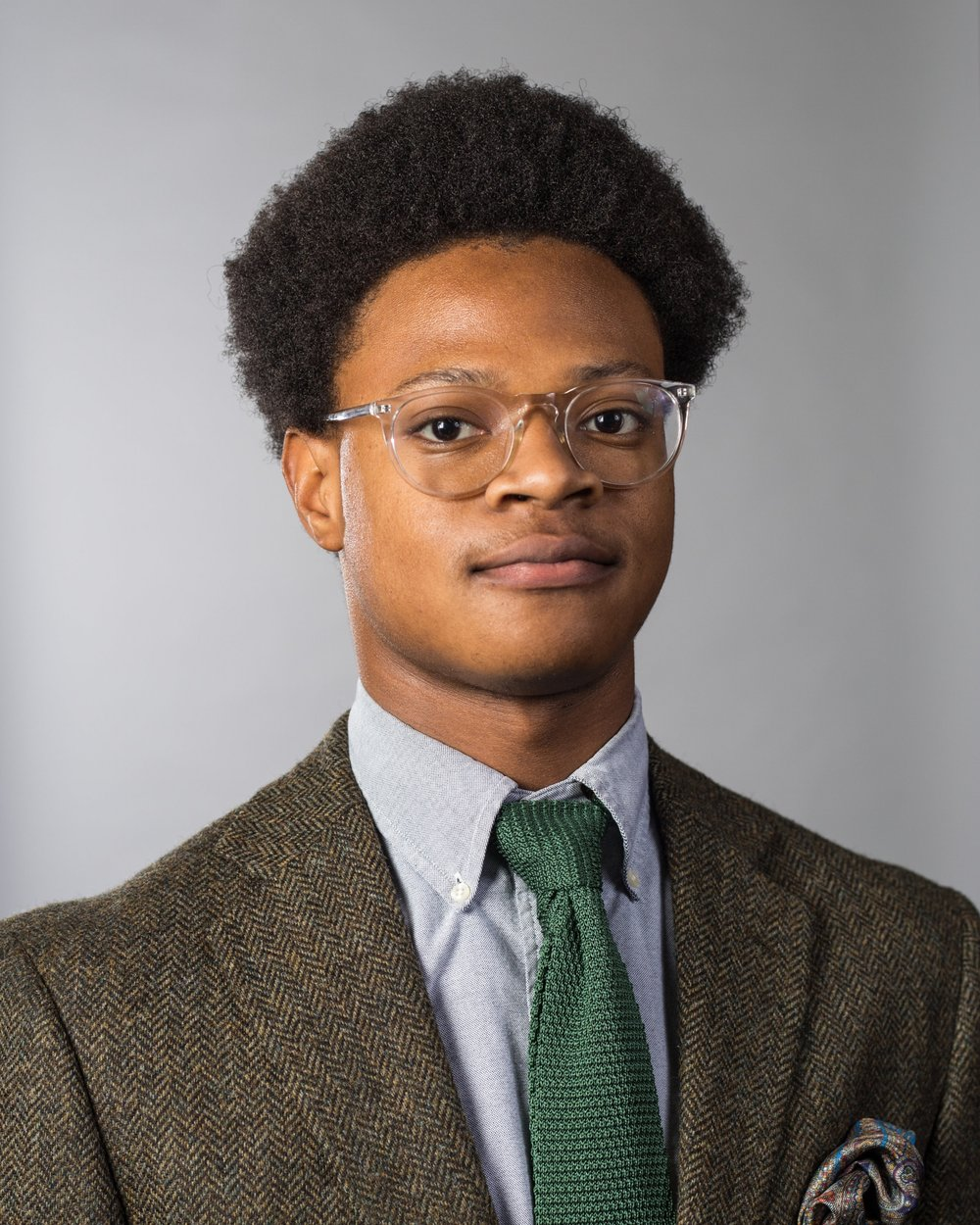 Chair of Communications:  Rashad Johnson