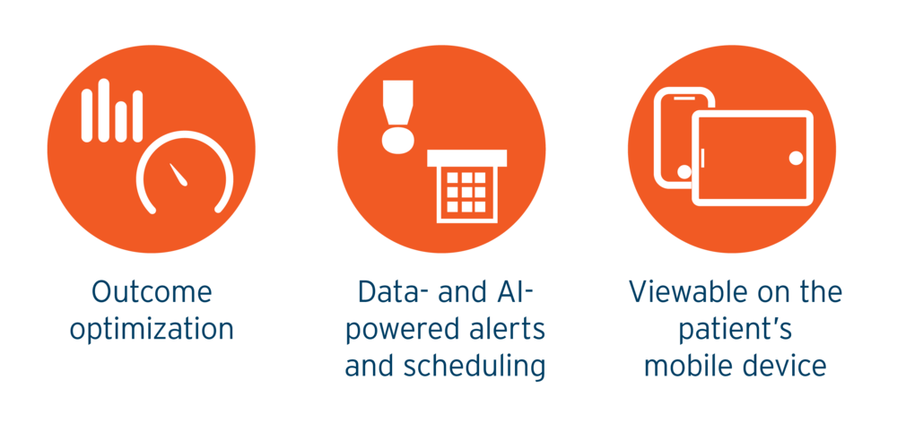 Parallax Care is a Healthcare Outcomes Optimization Platform  Providing Outcomes Optimization  Healthcare Data and AI Powered medical alerts and scheduling.  Accessible though any device, for patients, doctors, and medical staff.