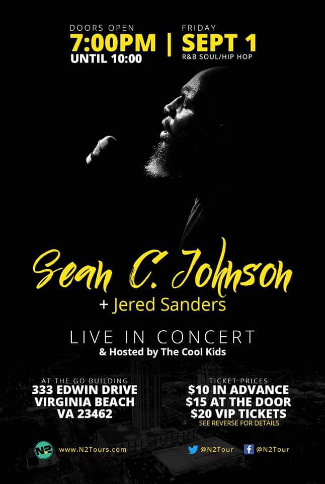 Sean C Johnson flyer