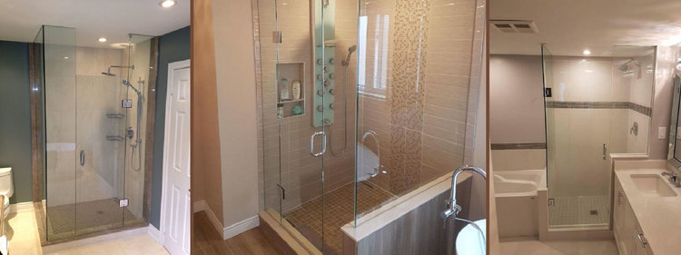 Frameless Glass Showers — Newmarket Glass Mobile