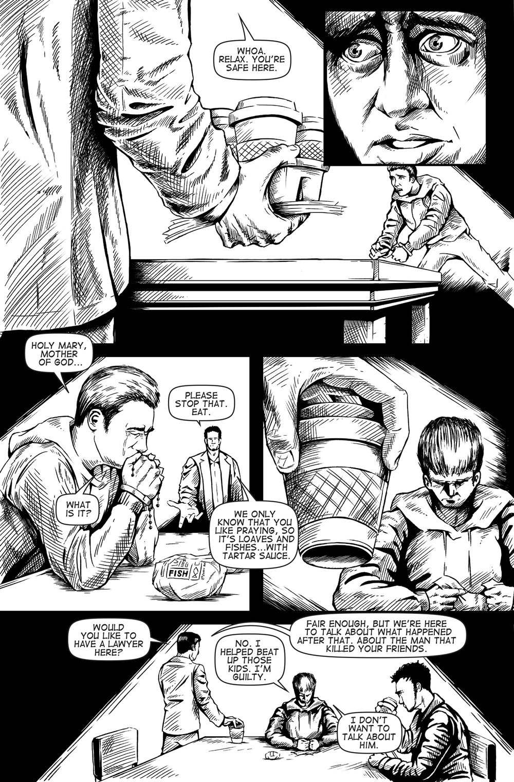 Soulbinder Issue 2, Page 2