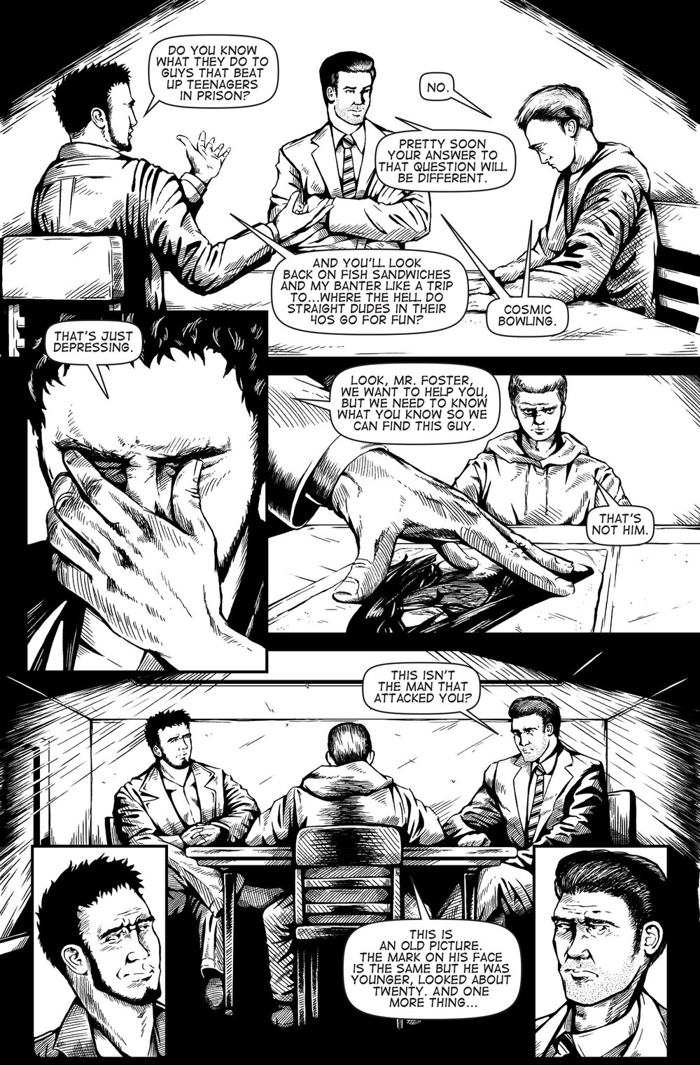 Soulbinder Issue 2, Page 3