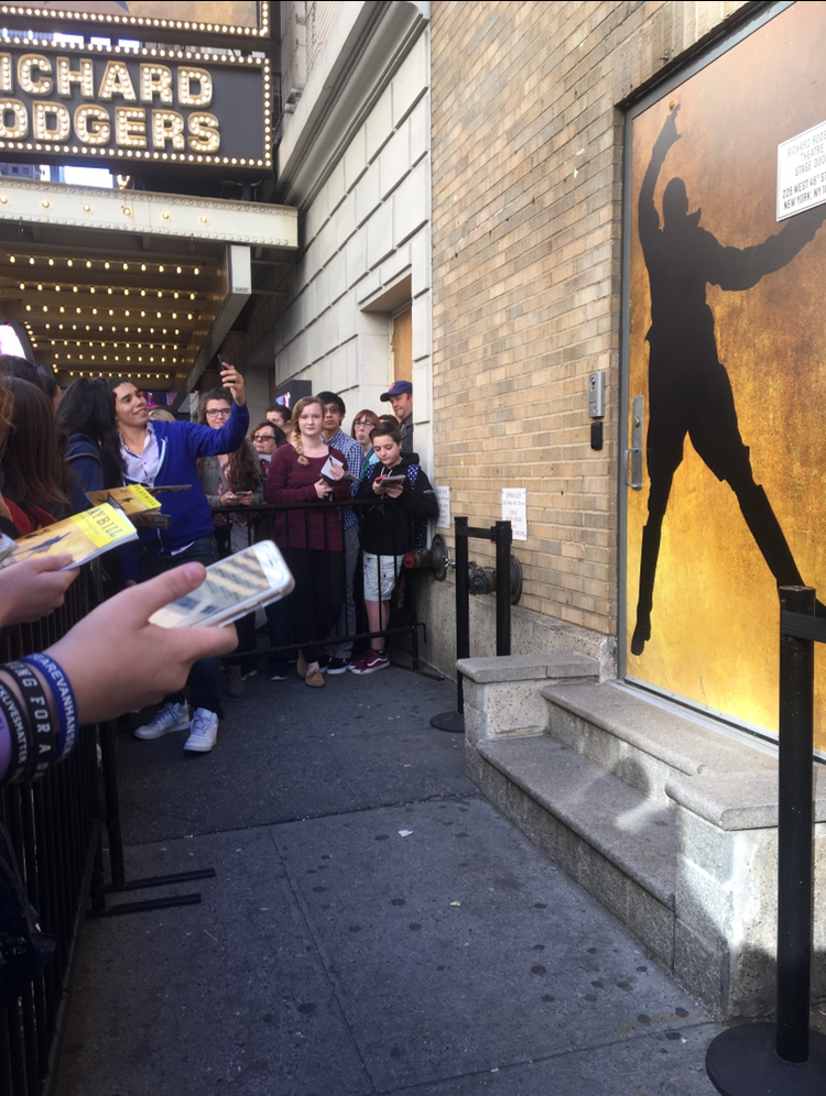 One fan in particular visits the Hamilton stage door almost everyday. Diana Rendon owner of the instagram account swingnation_ tells us what itu0027s like to ... & The Hamilton Stage Door u2014 The People of Broadway