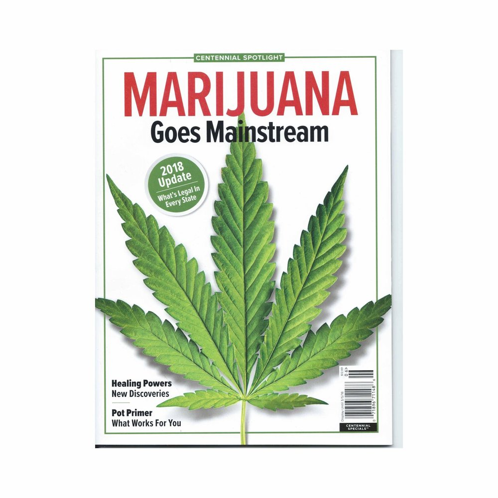 Cover of Marijuana Goes Mainstream Magazine