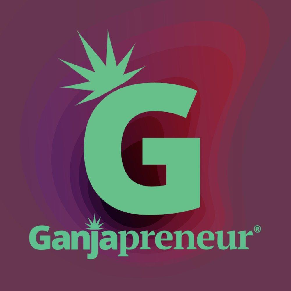 Ganjapreneur Logo - stylized