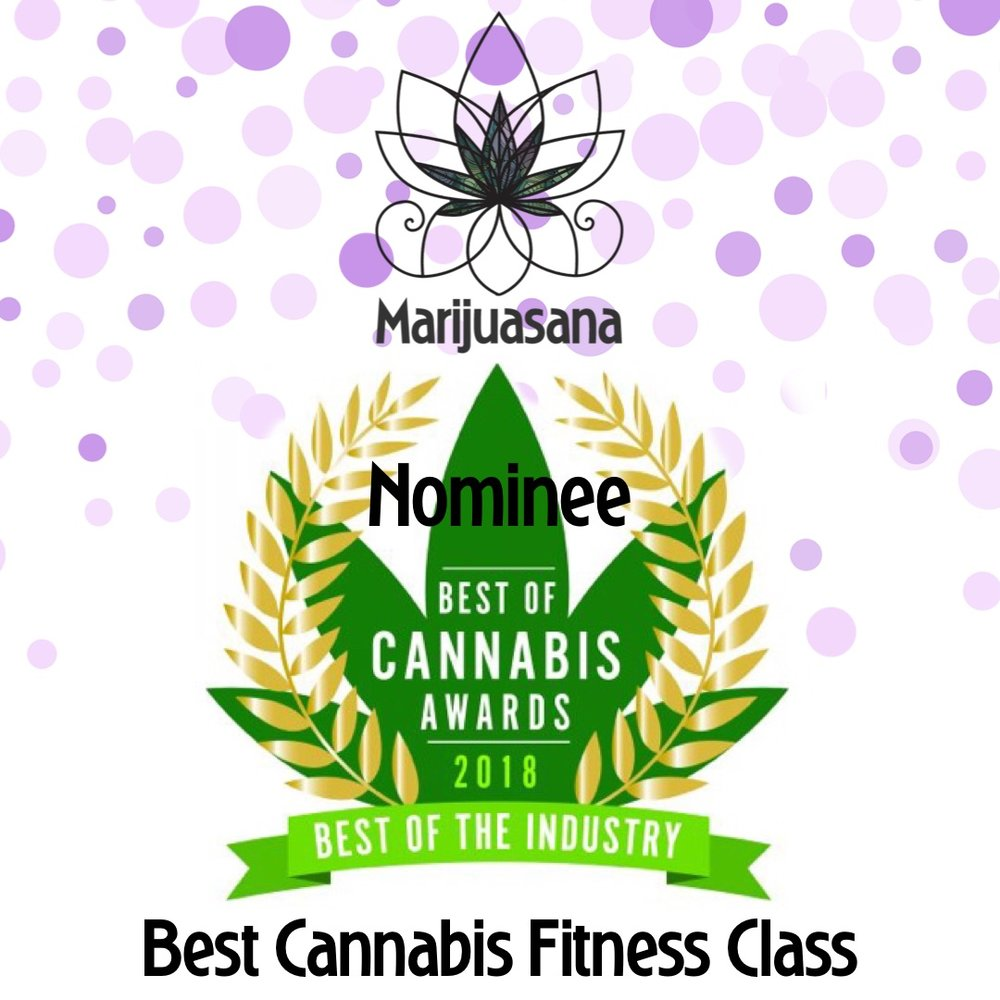 "Marijuasana is a ""Best Cannabis Fitness Class"" nominee"
