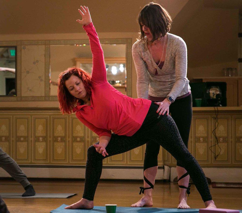 Marijuasana offers private in-home yoga and Pilates lessons.