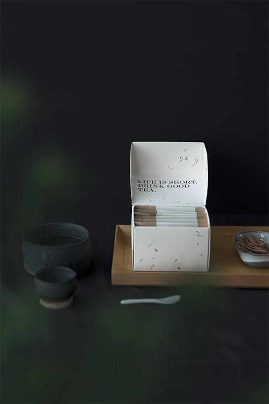 Rise and shine,  box of six fine teas.
