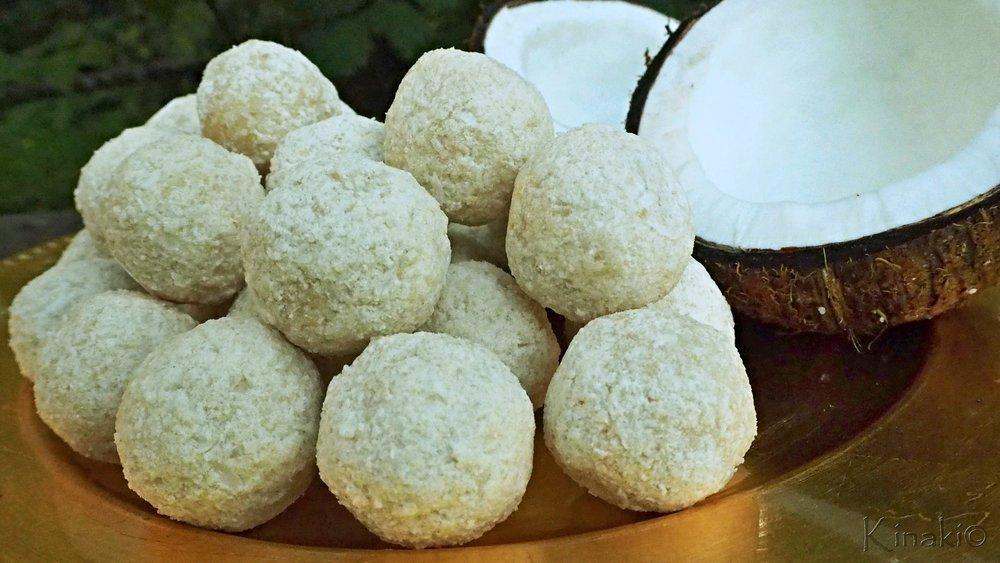 Coconut & Maca balls