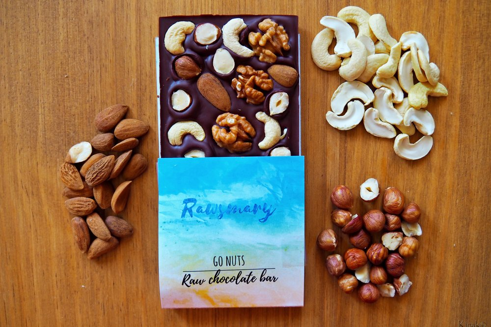 Go Nuts Raw Chocolate Bar