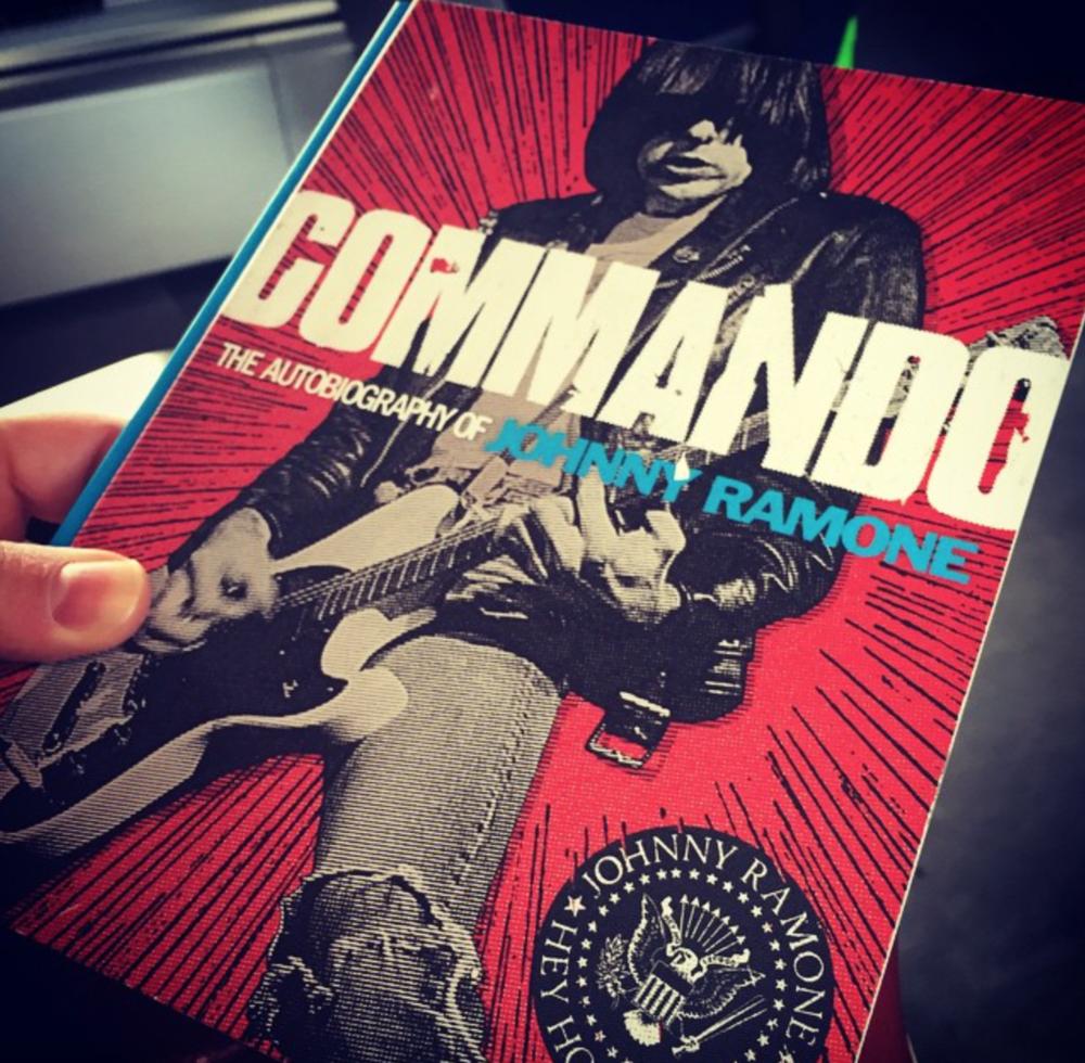 """Commando"" The Autobiography of Johnny Ramone"