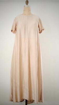 Style: AMI-C011  Description: Ami S/S Dress  Fabric: 50% Silk & 50% Linen  Color: Yellow, Nude, Gray  Size: S/M, M/L  Wholesale:$135.00