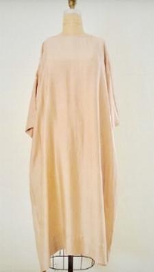 Style: IND-C010  Description: India Dress  Fabric: 50% Silk 50% Linen  Color: Nude, Gray  Size: S/M, M/L  Wholesale: 135.00