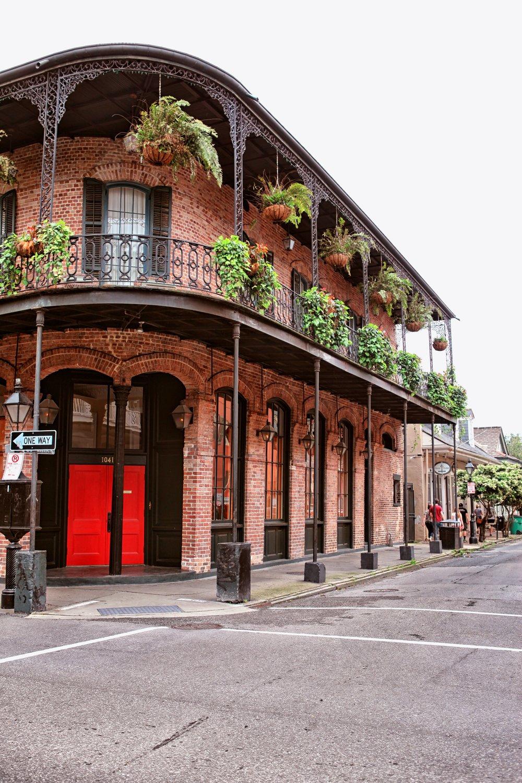 New Orleans, Louisiana. Photo via Pinterest of PowerCoupleLife.com