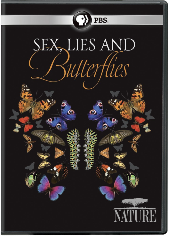 PBS Nature: Sex, Lies and Butterflies - Butterflies have been making our planet more interesting and beautiful for more than 50 million years, and today a dazzling array of nearly 20,000 different species inhabit the globe.Nature: Sex, Lies and Butterflies follows the lives of these incredible and important insects from egg to caterpillar to chrysalis to the emergence of the mature winged creature. Peter portrays self as a biologist in Mozambique.Air Date: April 4, 2018