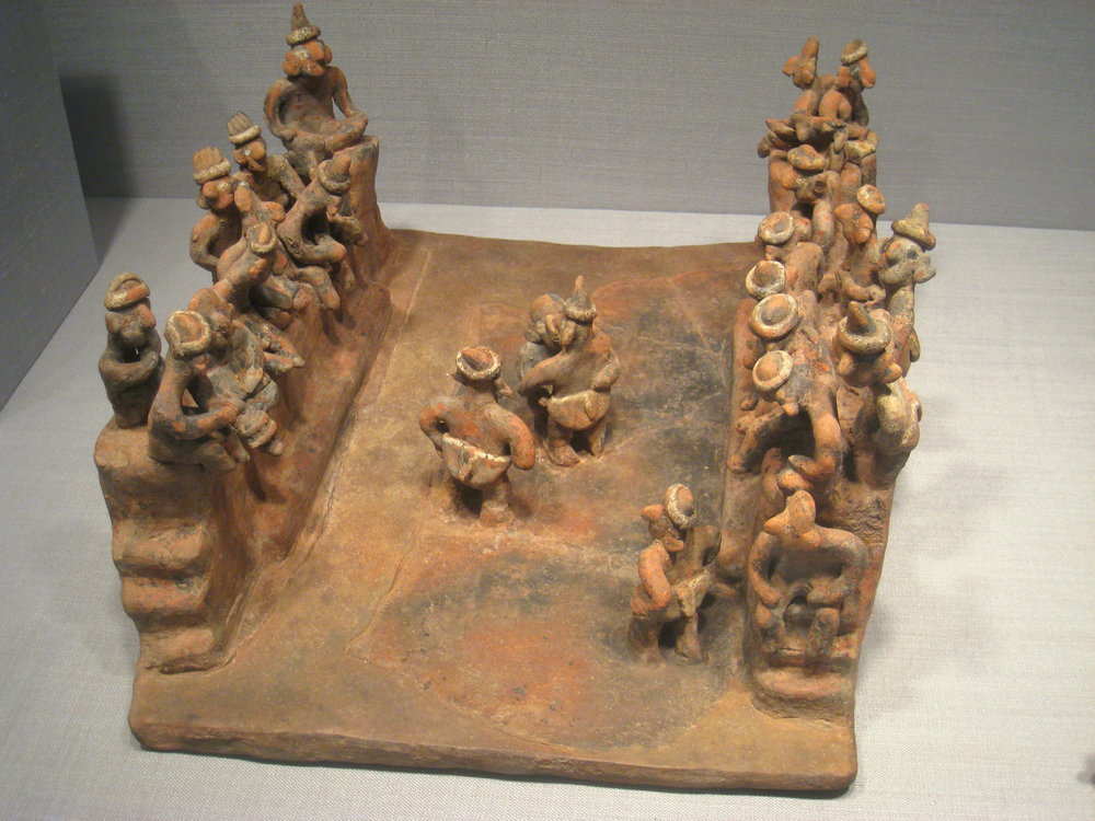 Model of a Ball Game Court , From the Worcester Art Museum, 1947.25