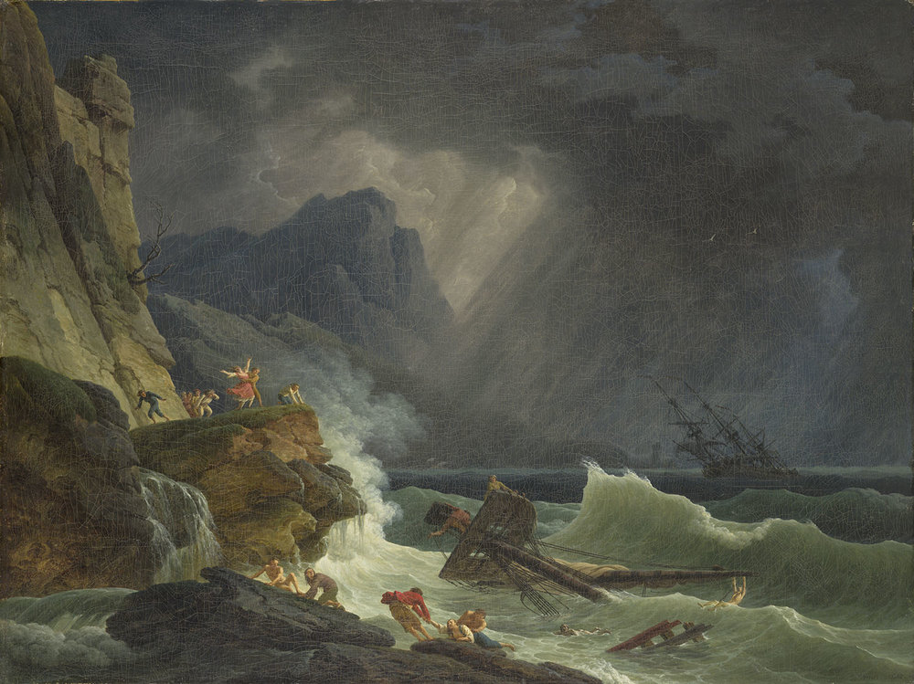 Claude-Joseph Vernet,  The Storm , 1787, 1939.364