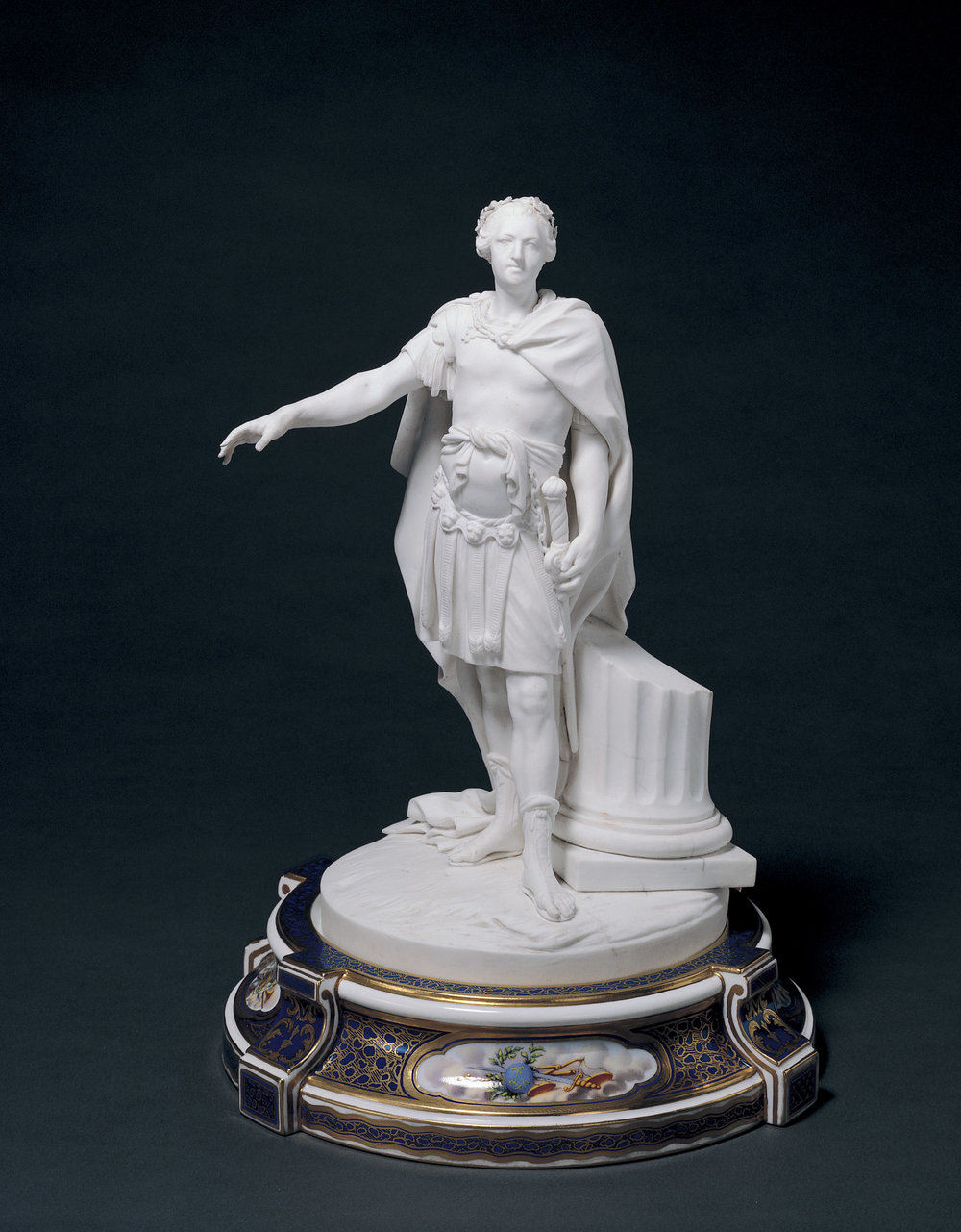 Sèvres Porcelain Factory,  Figurine of Louis XV , 1770, 1917.958