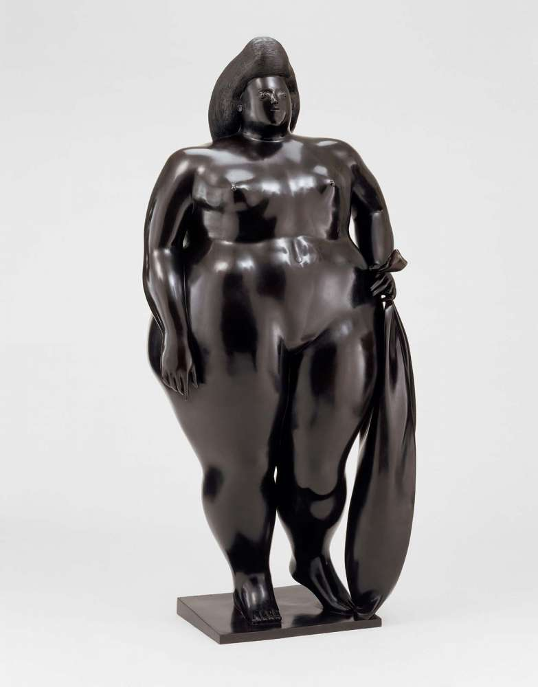 Venus , Fernando Botero, 1977, Museum of Fine Arts Boston, 2003.50