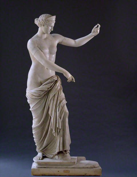 Venus (The Venus of Capua) , Roman, A.D. 117–138, Museo Archeologico Nazionale di Napoli.