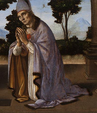 Miracle of Saint Donatus , Detail