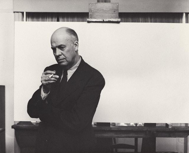 Edward Hopper , Arnold Newman, 1941.