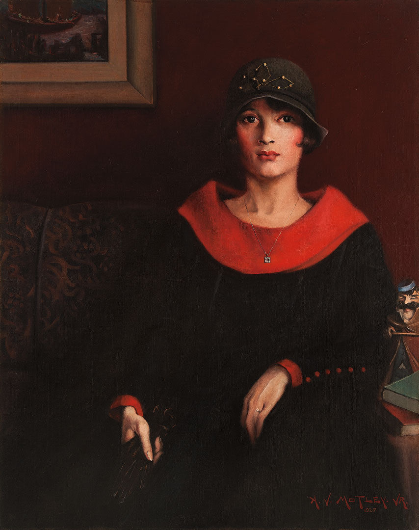 The Octoroon Girl , Archibald Motley Jr., 1925, Whitney Museum of American Art