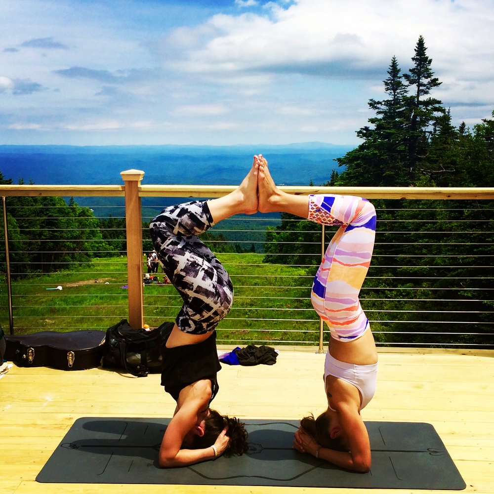 Wanderlust Yoga Festival, Stratton Mountain, VT