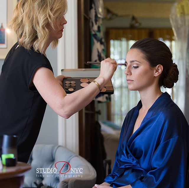 """""""Your work is going to fill a large part of your life, and the only way to be truly satisfied is to do what you believe is great work. And the only way to do great work is to love what you do.""""-Steve Jobs 📷 @studio_d_nyc  #weddinghair #weddingmakeup #updo #njbride #njwedding #detroitwedding #detroithairstylist #detroitmakeupartist #airbrushedmakeup #naturalmakeup #bridalmakeup #bridalhair"""