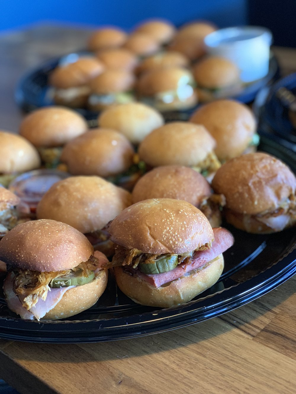 CATERING - We cater events and corporate/office lunches. Please call 206-686-3254 or email uncle@eddiesp.com to arrange your order .We look forward to working with you!