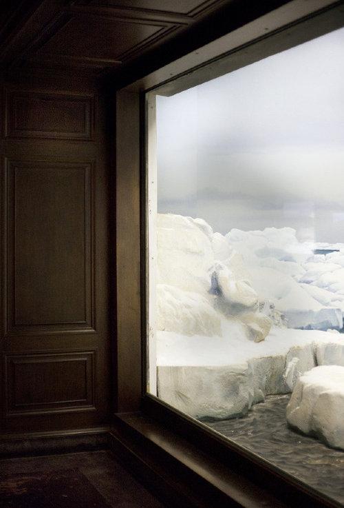 "Drift Ice (Bering Sea near Saint Lawrence Island, Alaska), 2012, Archival Inkjet Print, 38"" x 46"" inches"