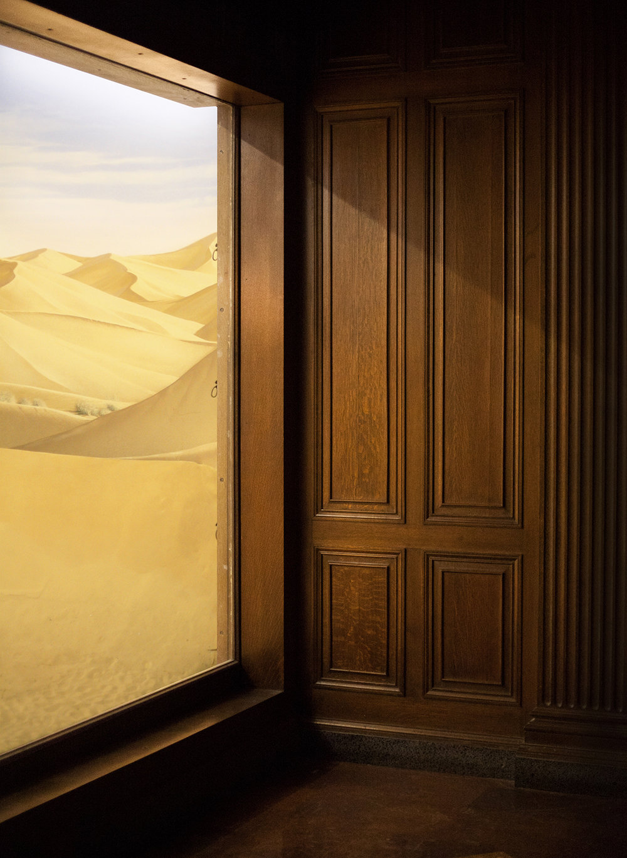 "Desert Diorama, (Death Valley, California), 2011, Archival Inkjet Print, 36"" x 48"" inches"