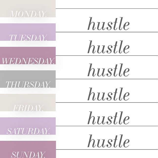 Are you hustling today? Double tap❤️ --- Ive been just struggling this week. I have chronic back pain from an accident ages ago, and MAN. It will mess up your momentum sometimes. --- But when you fall down you have to pick yourself up and try again. --- So it's Tuesday. And I'm back to the hustle.