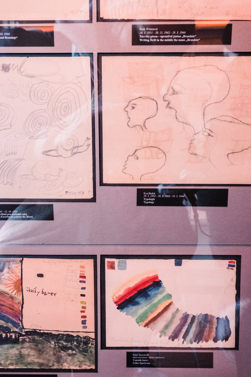 Drawing was a form of therapy for children in internment camps