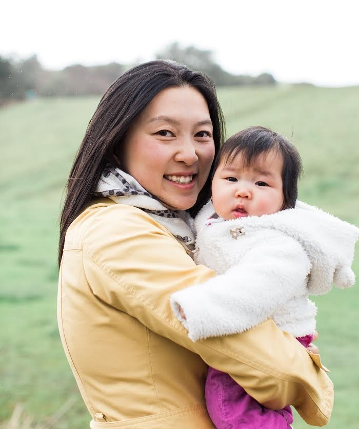 Linda Xiong, the founder of the Moms in Tech community, and her daughter. Ms. Xiong is currently a product manager at Facebook.  Shared with permission of Linda Xiong.