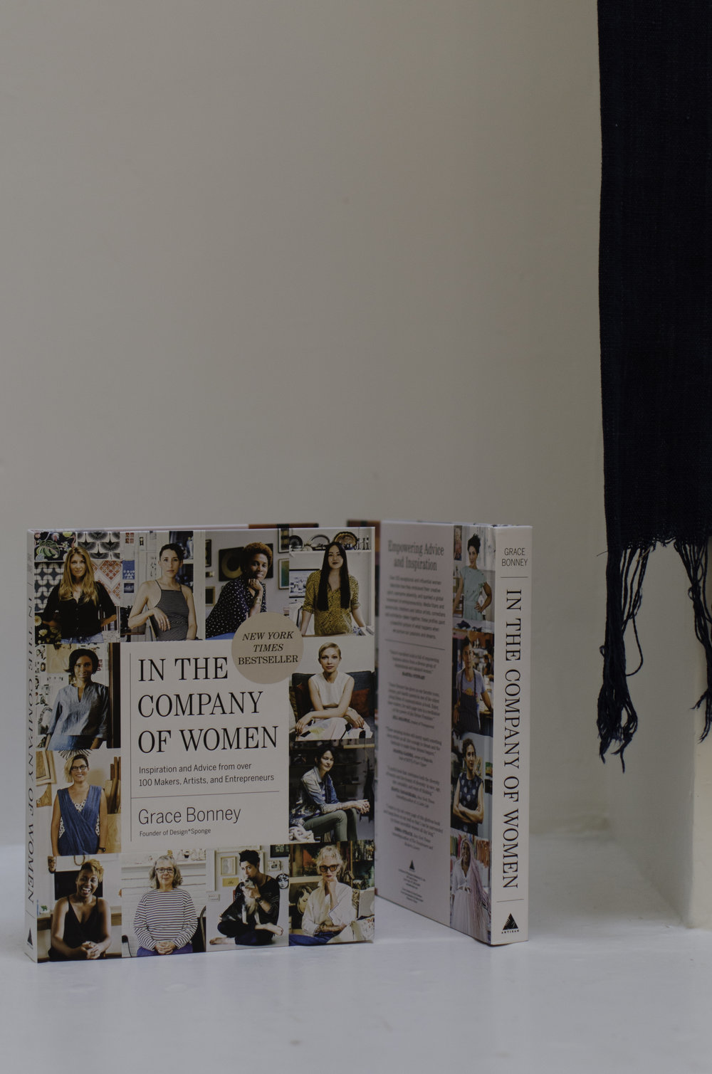 In The Company of Women     - The best gift for any creative or entrepreneurial person on your list. This book by Grace Bonney features inspiring stories of women who have just made it happen for themselves.