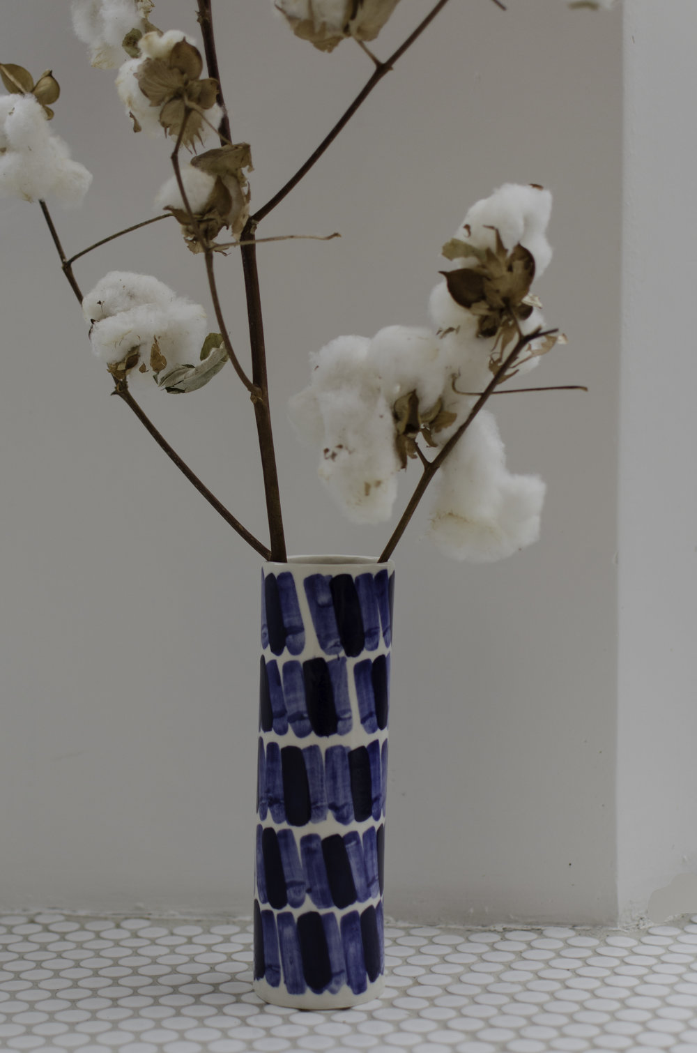 Rhythm #2 Vaseby Isabel Halley - I am obsessed with all things blue and this vase is no exception. Isabel Halley is based in New York and makes really natural pieces that look beautiful in any setting.