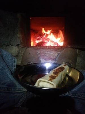 Oak Grove Campground. Here come the burritos!!
