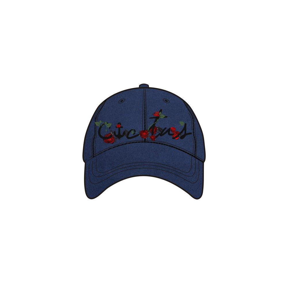 size 40 7e301 e0b33 ... where to buy navy blue rose hat bcb5e e5e13