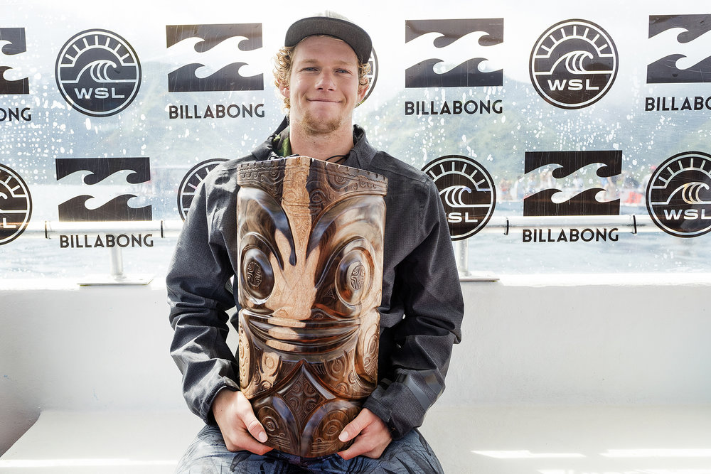 John John Florence wins Andy Irons Most Commited Award Teahupoo Tahiti 2017.jpg