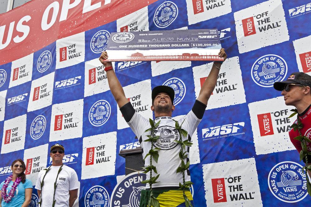 Alejo foi campeão do US Open em 2013 / WSL